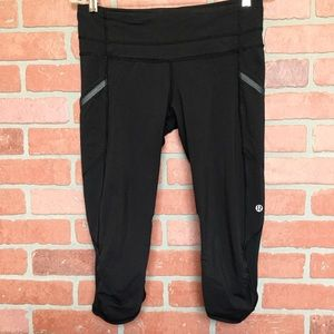 Lululemon yoga crop pants Capri leggings (4B39)